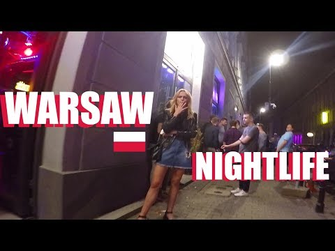Warsaw Nightlife:  Bars And Clubs 2018