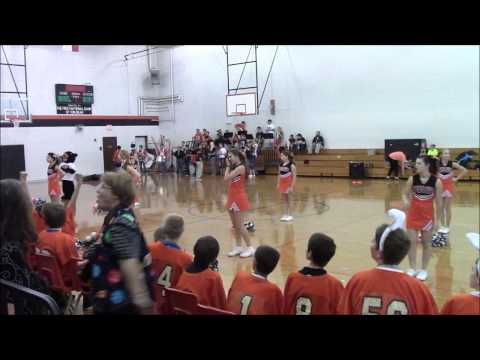 Game 3 Pep Rally Tom Bean Middle School