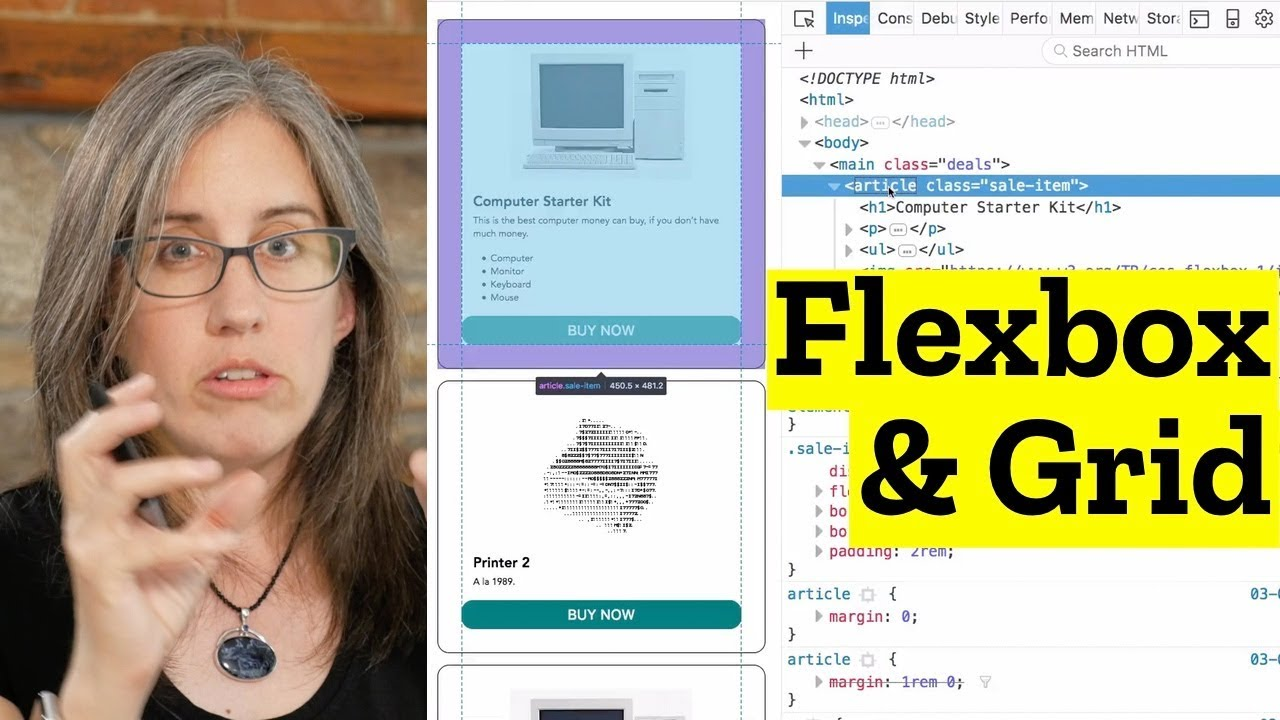 Using Flexbox + CSS Grid Together: Easy Gallery Layout - YouTube
