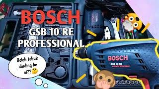 REVIEW BOSCH GSB 10 RE PROFESS…