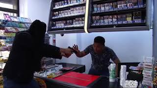 Ограбление в Кыргызстане!!!!шок