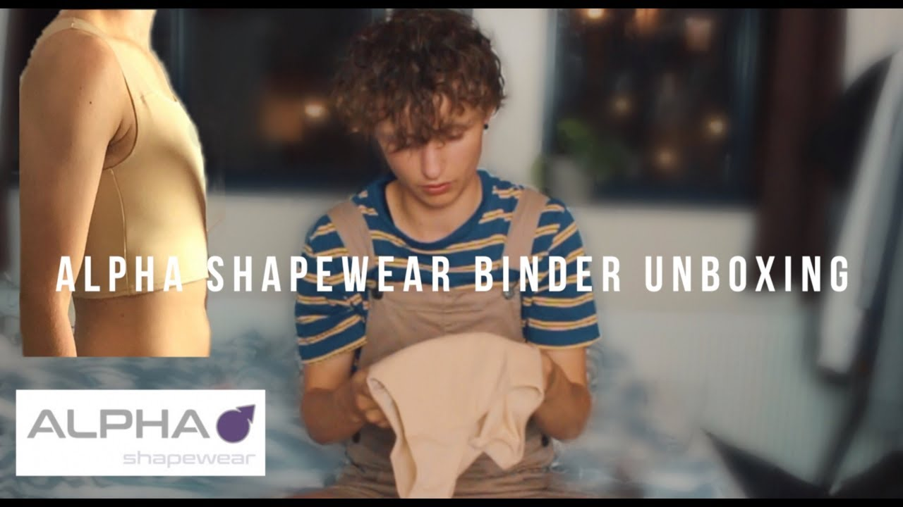 8ae1de490f alpha shapewear custom binder unboxing and first look - YouTube