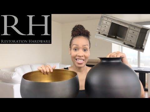 HOME HAUL | RESTORATION HARDWARE & MATOUK