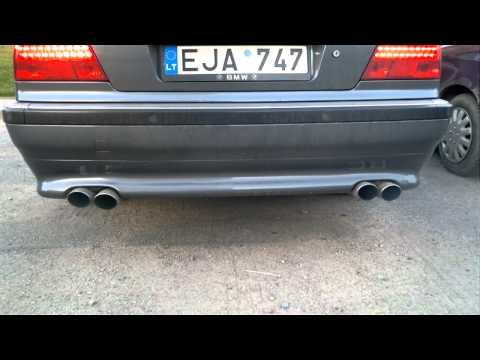 Bmw e38 740 Diesel Exhaust sound
