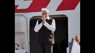 PM arrives in New Delhi | PMO