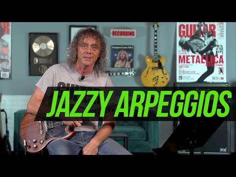Jazzy Apreggios Lesson with Jimmy Brown