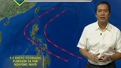 24 Oras: Hanggang dalawang bagyo, posibleng pumasok sa PAR ngayong Mayo