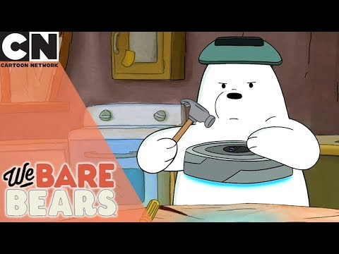 We Bare Bears | We Bare Robots | Cartoon Network UK