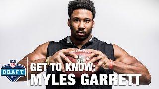 Get to Know: Myles Garrett (Texas A&M, DE) | 2017 NFL Draft