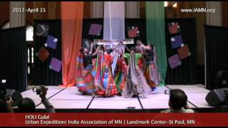 HOLI-Gulal-Dance [India Association of MN]