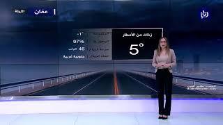 النشرة الجوية الأردنية من رؤيا 17-3-2020 | Jordan Weather