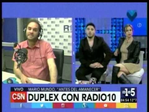 C5N - De1a5: Duplex con Antes del Amanecer en Radio 10 (Parte 2)