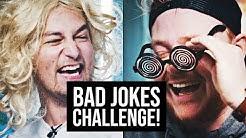 """Tämäkö """"hauskin"""" lautapeli? - Bad Jokes Challenge"""