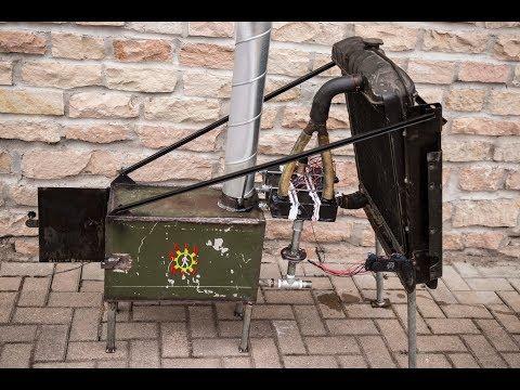 Термогенераторная печка Пельтье
