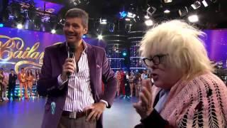Showmatch 2012 - La Abuela conoció al jurado de Bailando