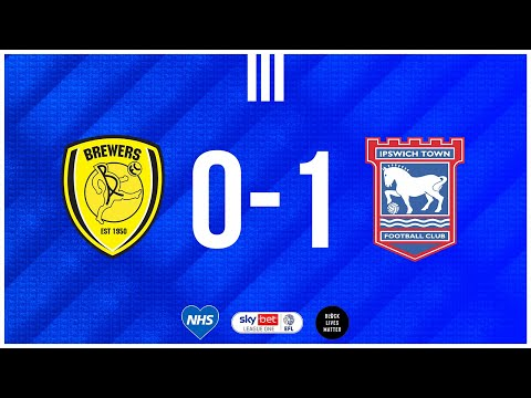 Burton Ipswich Goals And Highlights