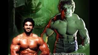Lou Ferrigno: The Incredible Legend