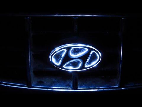 Подсветка логотипа авто своими руками.