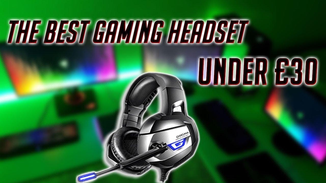 ONIKUMA K5 Pro Gaming Headset review - Mic Test