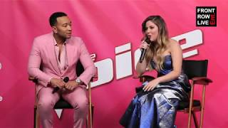 Maelyn Jarmon & John Legend Press Conference | The Voice Season 16 Finale