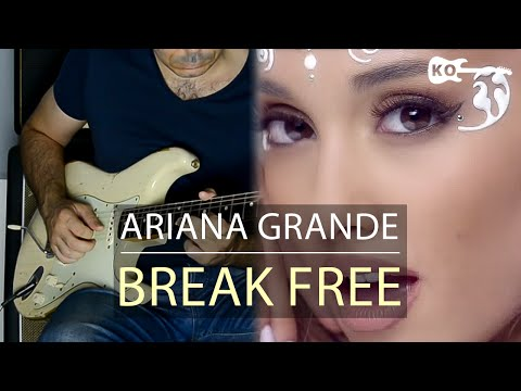 Ariana Grande - Break Free ft. Zedd - Electric Guitar Cover by Kfir Ochaion