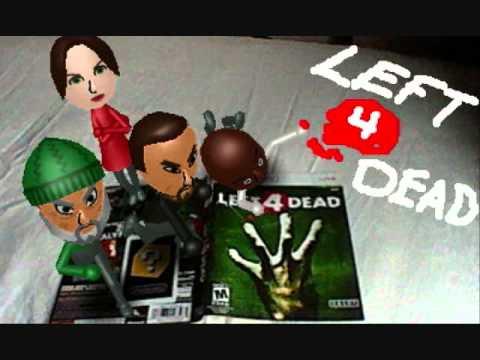 Left 4 Dead Characters as Miis