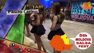 Moldova Salsa Festival 2018 –  ShowTime – Pasito Latino / Ladies  ( Iasi )
