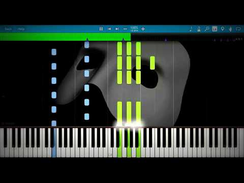 The Phantom Of The Opera | Synthesia Piano Tutorial