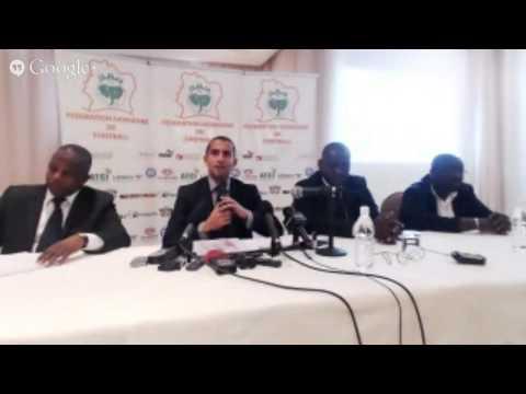Mondial 2014: Sabri Lamouchi face à la Presse