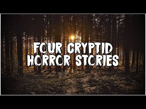The Thing In The Woods | 4 Scary Cryptid Stories!