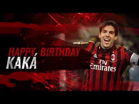 Once more, happy birthday Kaká!
