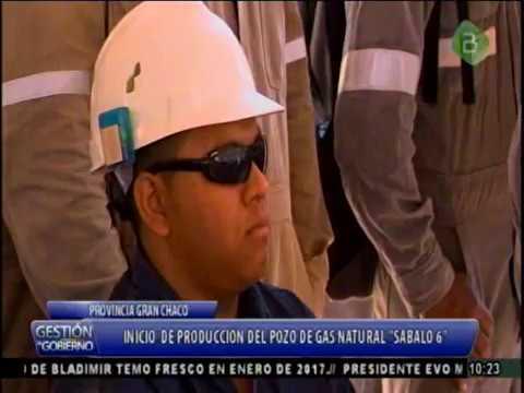 Evo Morales, Tarija, Inicio de producción del Pozo de Gas Natural
