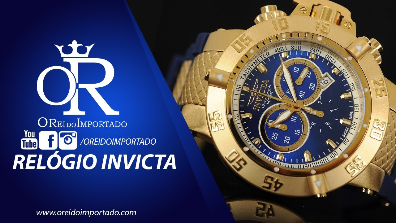 ed0aadf8dac Relógios Invicta - O Mais Vendido no Mundo - YouTube