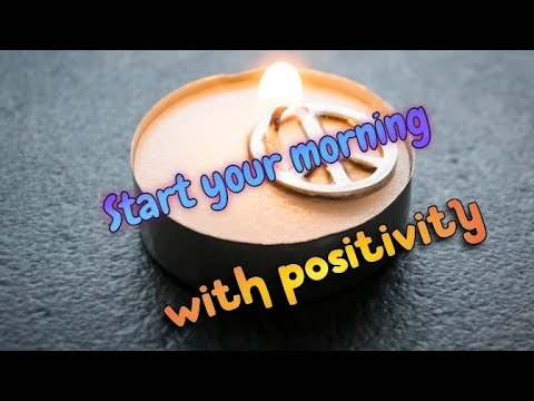 start your day with positivity~ morning meditation to ...
