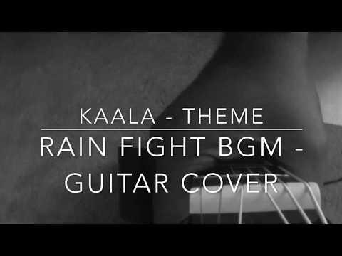 Kaala theme | Rain fight bgm |Guitar cover | Ashwin Asokan | Santosh Narayanan | Rajinikanth