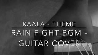 Kaala theme | Rain fight bgm |  Guitar cover | Ashwin Asokan | Santosh Narayanan | Rajinikanth