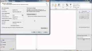 How to setup Outlook 2010 to work with GMX Mail