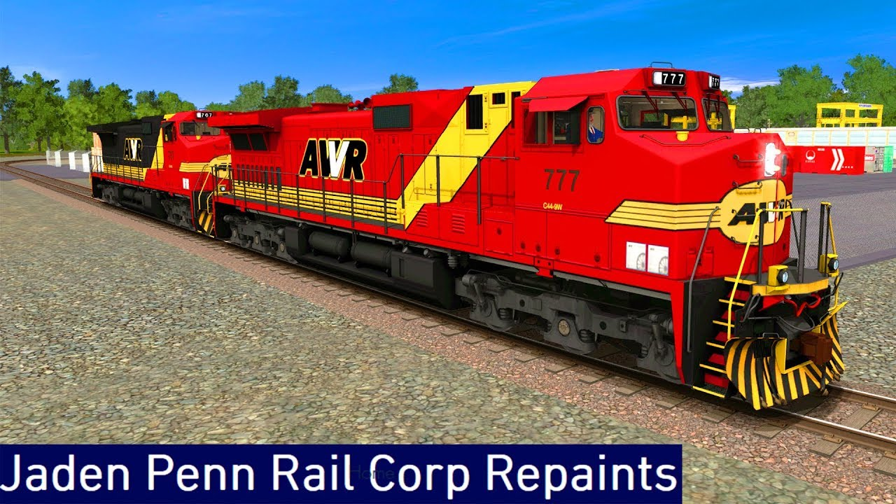 Trainz A New Era [ JPRC Repaints Add-On ] - AWVR C44-9W (FreeWare