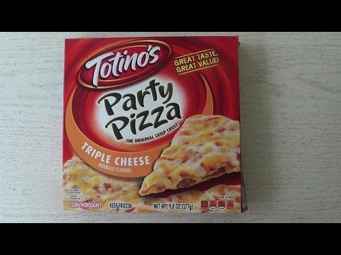 Totinos Triple Cheese Party Pizza Review