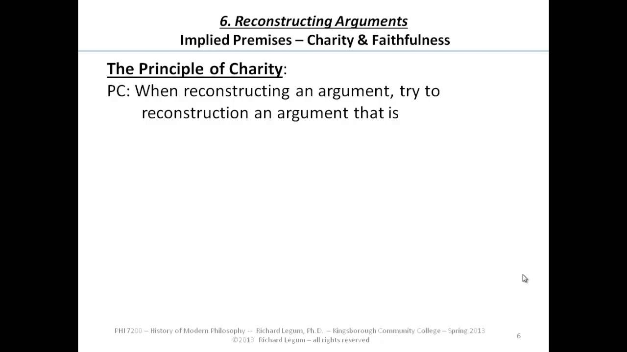 philosophy critical thinking examples