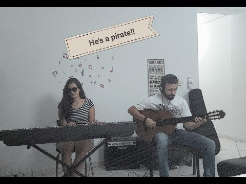 Pirates of the Caribbean (soundtrack)_He's a Pirate!_piano-guitar duet by D Squared (D²)