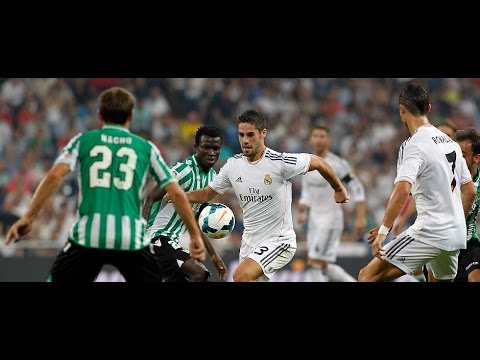 Isco, Carvajal and Casemiro made their debuts against Betis at the Santiago Bernabéu