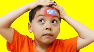 캐릭터 밴드 붕대 놀이 The Boo Boo Story & Nursery Rhymes Kids Song like Nastya