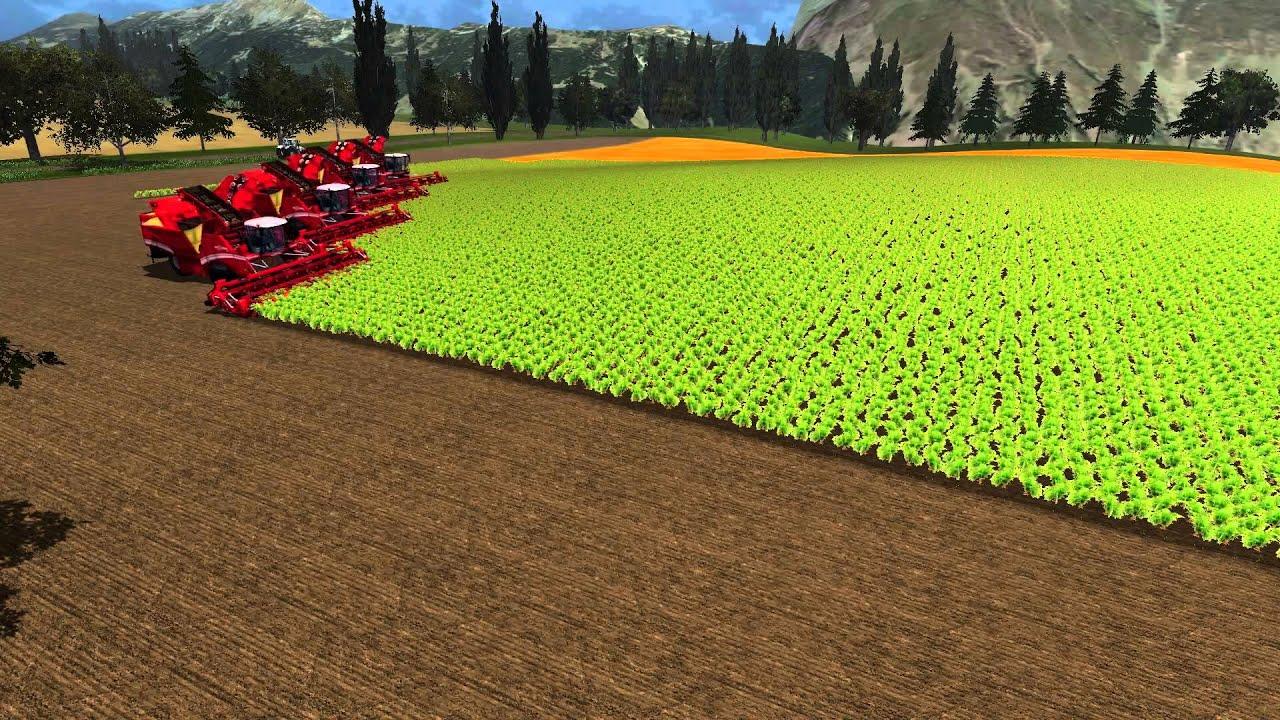 Map Usa Farming Simulator 2013%0A Farming Simulator      harvesting carrots with four Maxtron      YouTube