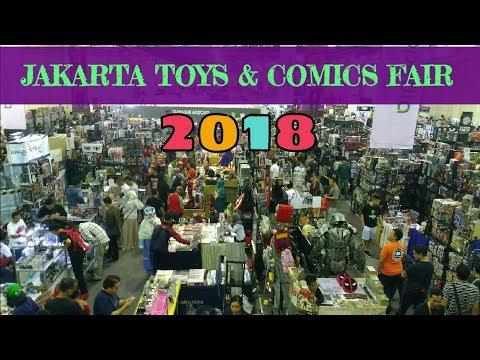 VLOG: THE JAKARTA 14TH TOYS & COMICS FAIR 2018