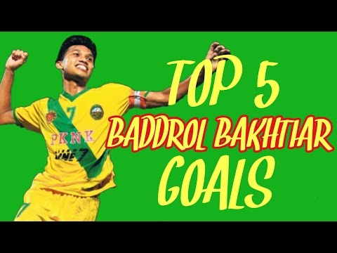 Top 5 Baddrol Bakhtiar Goals