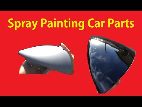 how to paint plastic auto parts diy sem doovi. Black Bedroom Furniture Sets. Home Design Ideas