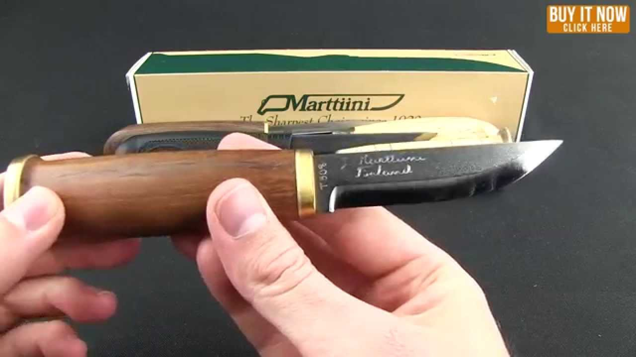 Marttiini Knives Overview
