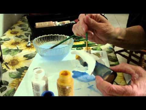 Painting The Folk Art Angel Part 2