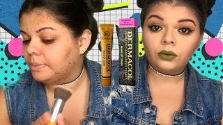 La mejor base full cover? DERMACOL(tono 218)/Desiree Marie